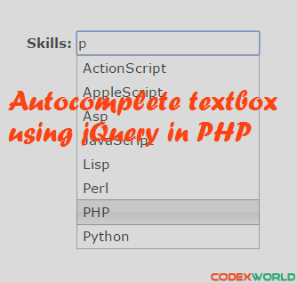 Ajax Search Box in PHP and MySQL – Codeforgeek
