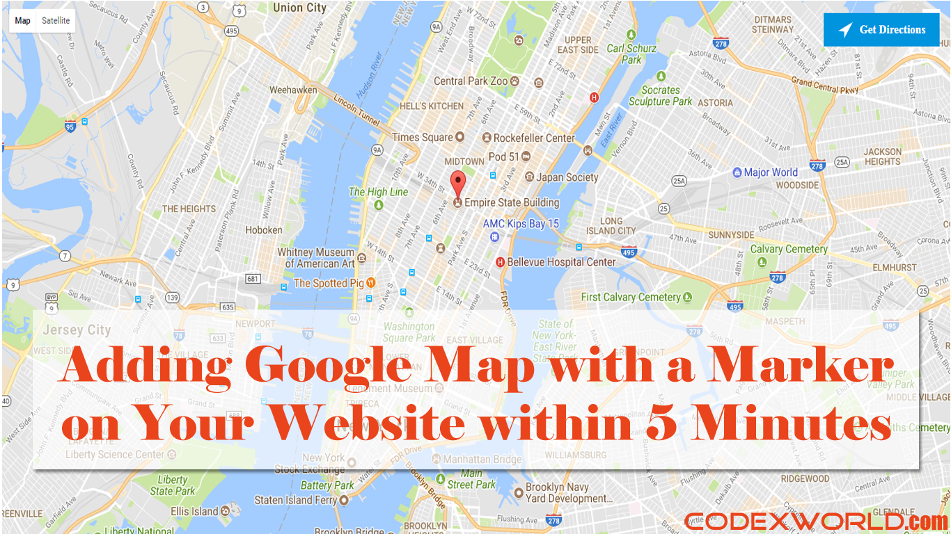 Adding google map on your website within 5 minutes codexworld gumiabroncs Image collections