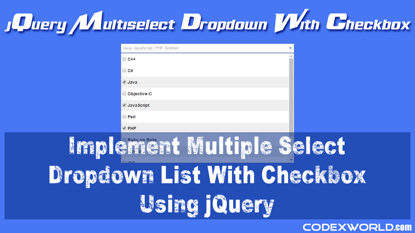 How To Write Checkbox In Jquery Solution For How To For Dummies
