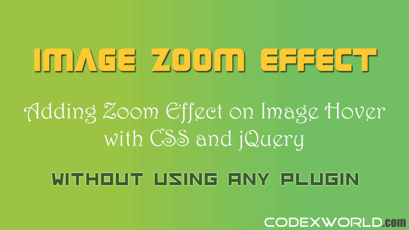 Hover Effect CSS Libraries