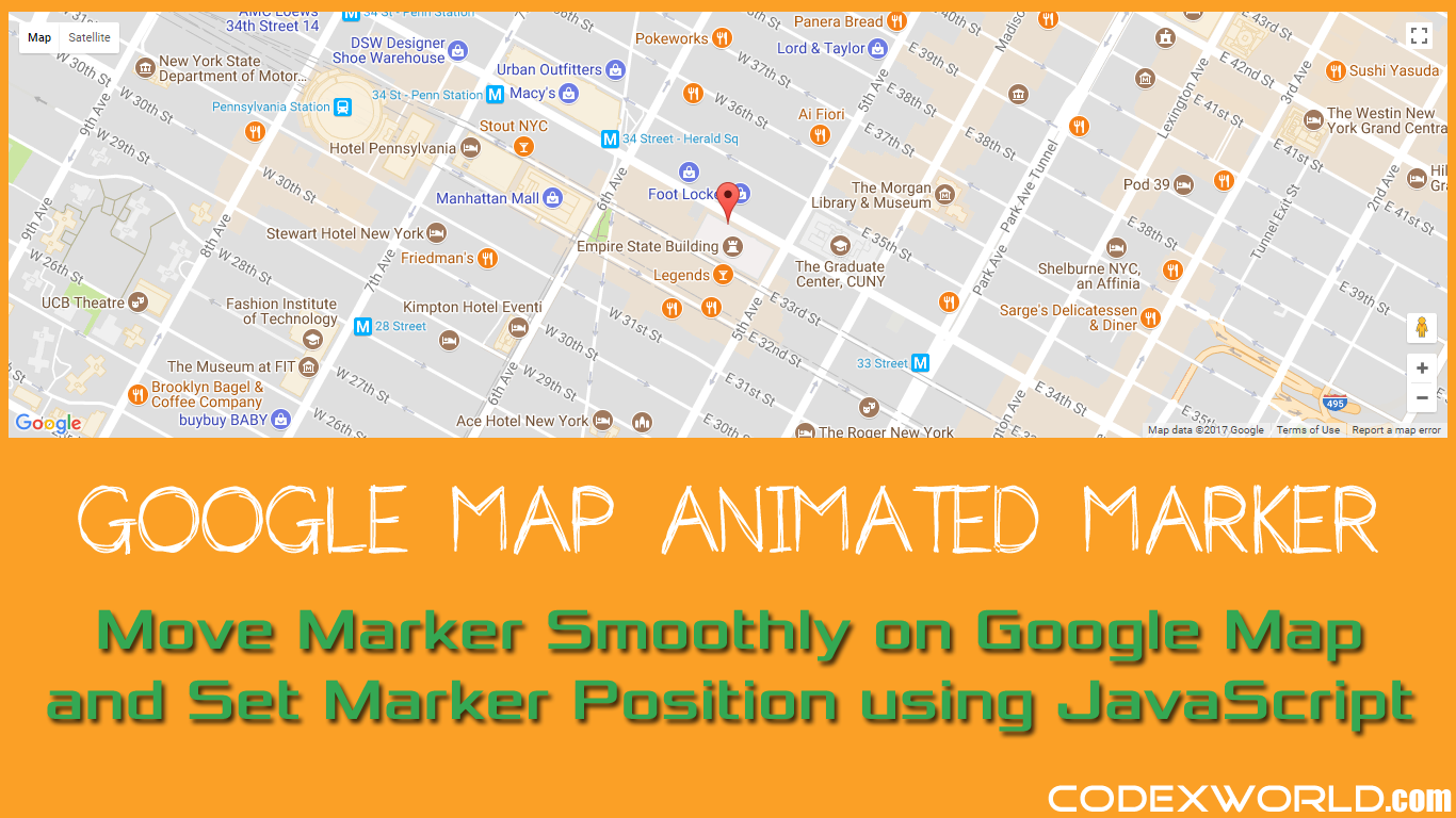 How to move marker smoothly on google map using javascript codexworld baditri Image collections