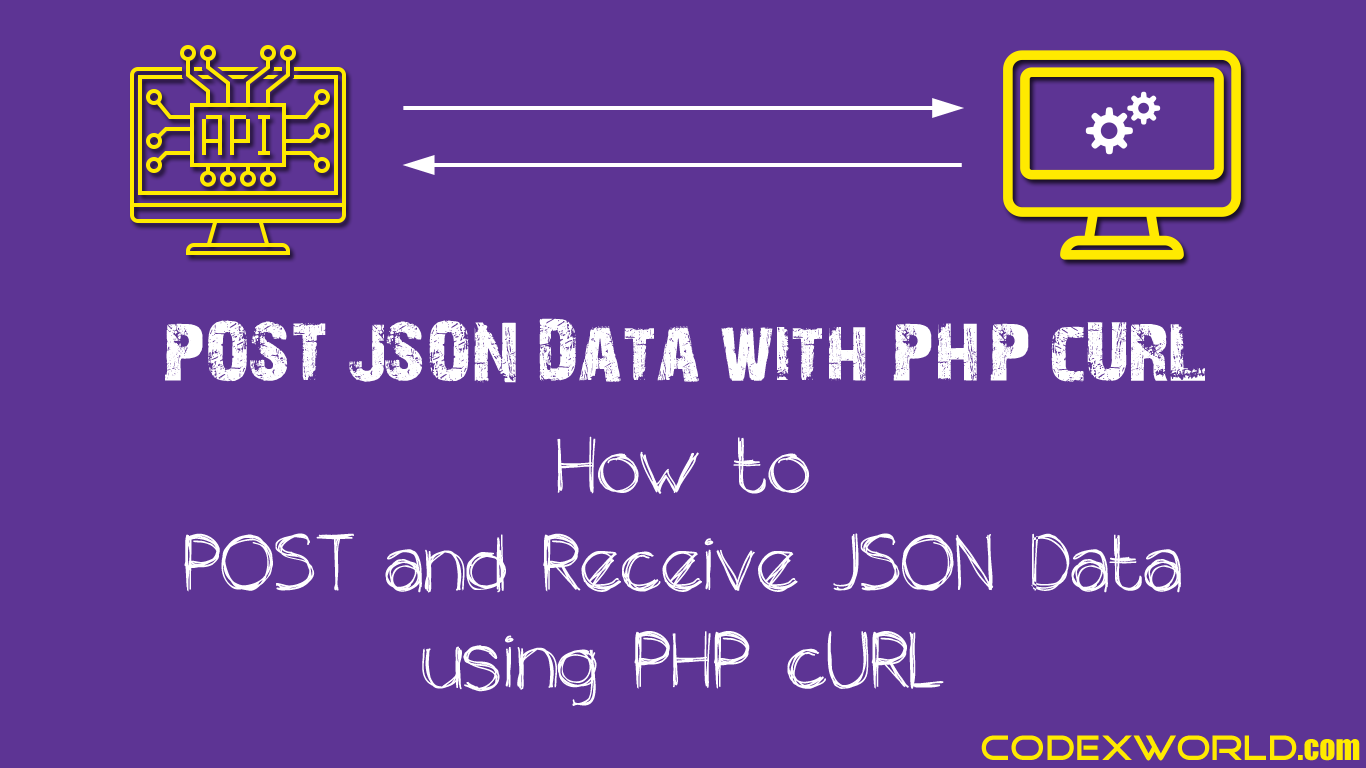 How to post and receive json data using php curl codexworld baditri Choice Image